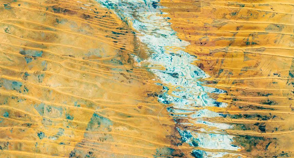 Google publica una serie de mapas de Google Earth para colocarlas como fondos de pantalla. (Foto: Google)