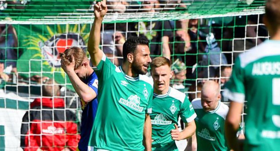 Con Claudio Pizarro: Werder Bremen vs. Heidenheim EN VIVO juegan por el play off de Bundesliga (Foto: AFP)