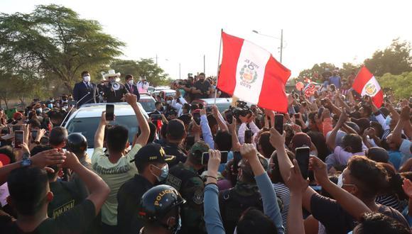 El presidente de la República indicó que su prioridad es salvaguardar la integridad todos los ciudadanos. (Foto: Twitter/Pedro Castillo)