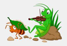 Cuento: La cigarra y la hormiga
