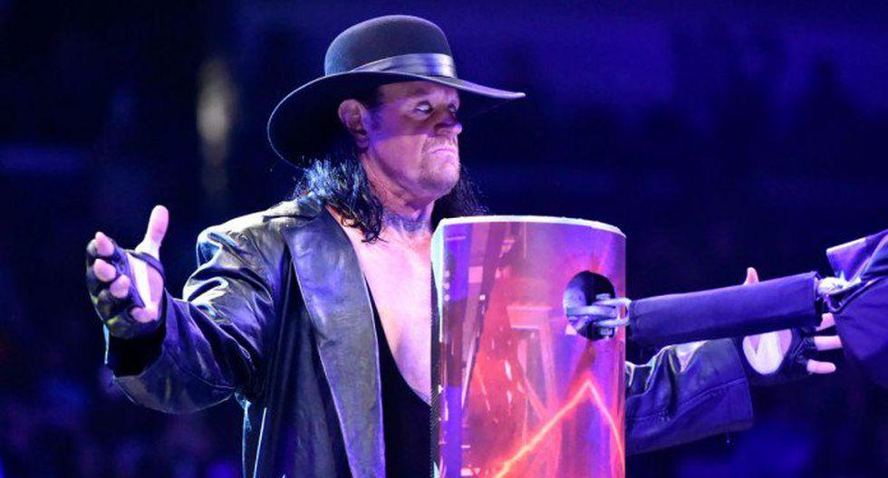 The Undertaker se alista para WrestleMania.