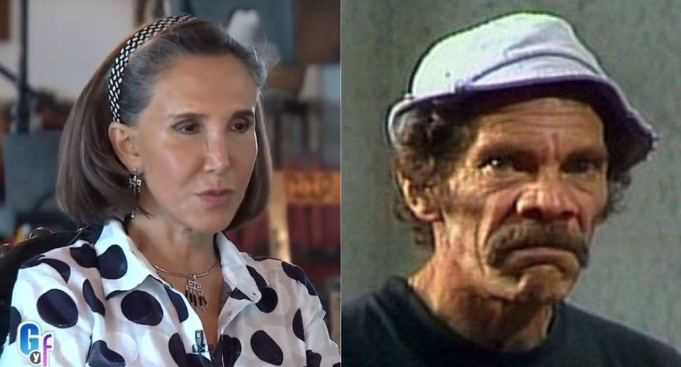 Florinda Meza y la vez que dijo que Ramón Valdés tenía problemas con el alcohol y otras drogas