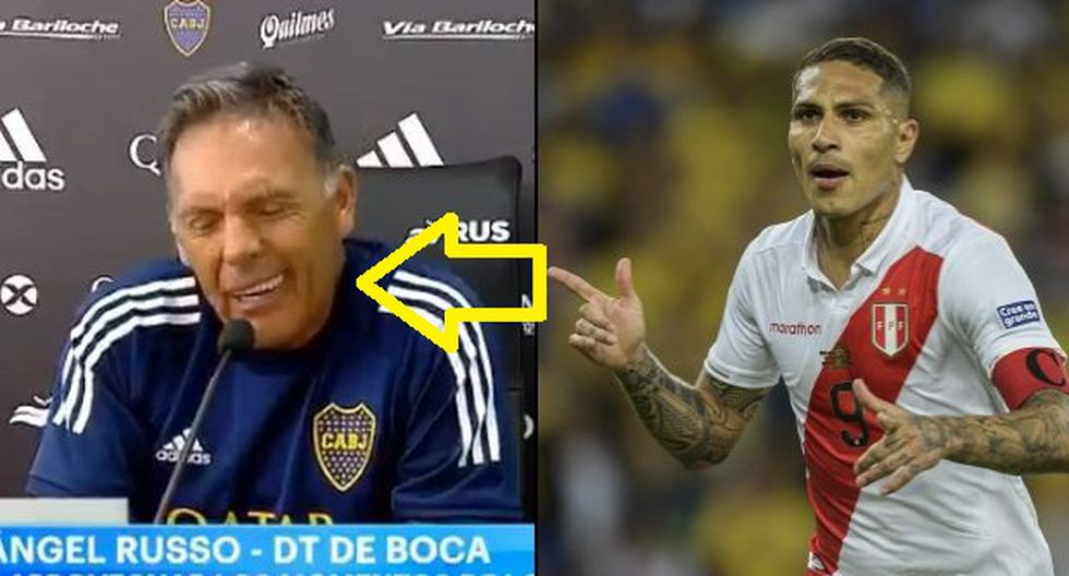 Paolo Guerrero: Miguel Ángel Russo hizo una mueca histriónica para responder si lo llamó o no, para llevarlo a Boca | VIDEO