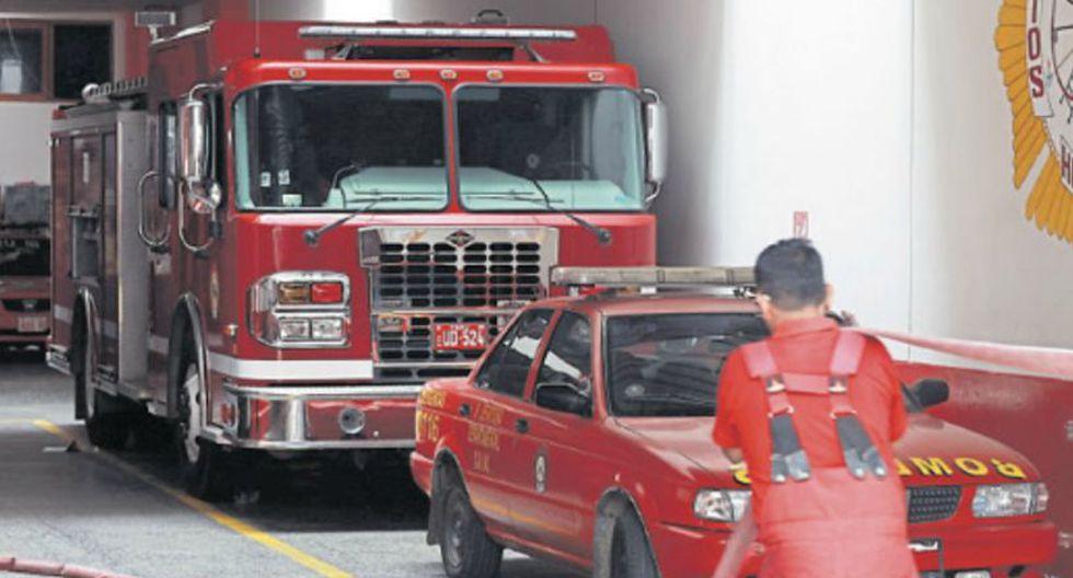 Estación de Bomberos Voluntarios San Pedro de Lurín Nº 129 necesita de dos conductores más. (Foto: EC)