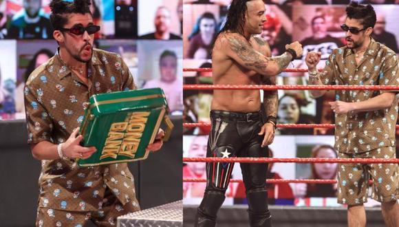 Cada vez son más grandes los rumores del debut de Bad Bunny como luchador en WrestleMania. (WWE)