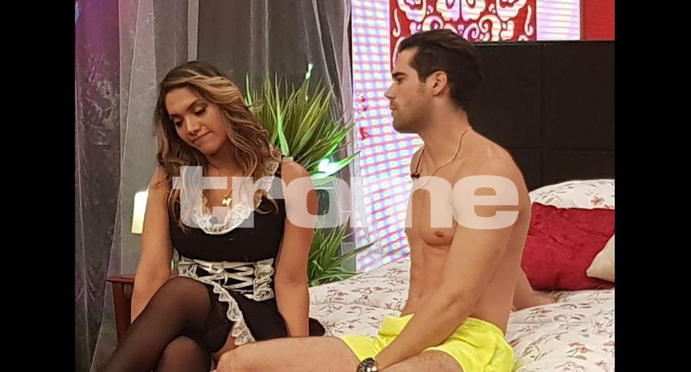 Isabel Acevedo y Guty Carrera protagonizaron  sketch en el programa de Carlos Álvarez.