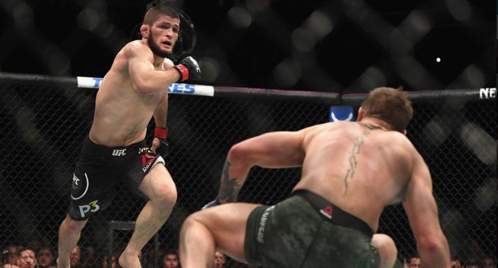 Khabib Nurmagomedov alcanzó fama mundial tras vencer a McGregor (Redes sociales /UFC)
