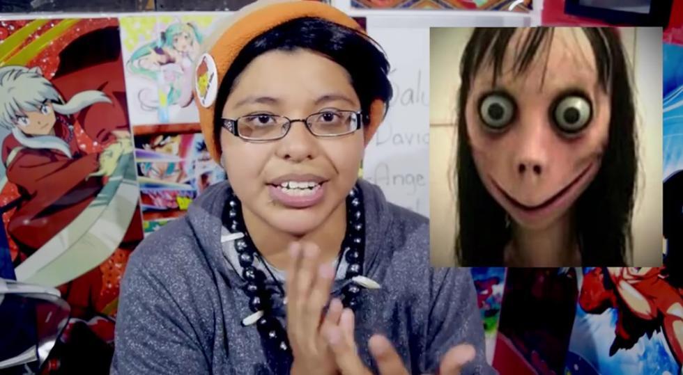 Otro youtuber le entra a la moda del 'Momo' de Whatsapp.
