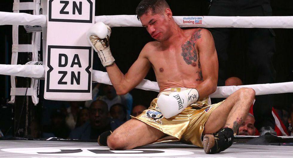 El nocaut de Haney es considerado el mejor del año. (Matchroom Boxing)