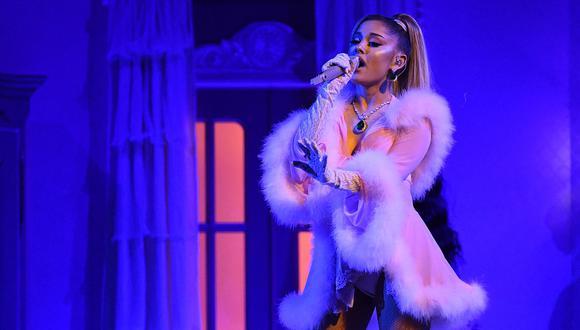 """Grammy 2020: Ariana Grande y su espectacular interpretación de """"7 Rings"""" durante la gala. (Foto: AFP)"""