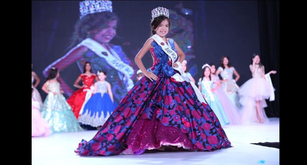Peruanita ganó la corona del 'Baby World 2020′ y es la nueva 'Miss Chiquita'
