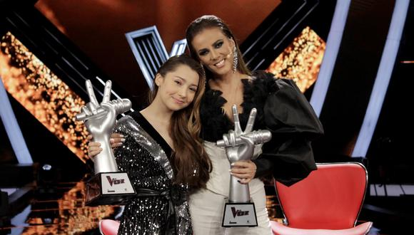 Sherlyn del equipo de Edith Márquez es la ganadora de La Voz México 2021.
