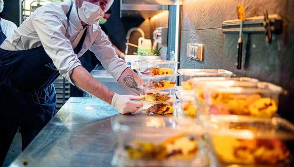 Restaurantes deberán redoblar limpieza para poder realizar servicio de delivery