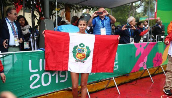Kimberly García gana medalla de plata. (Foto: Giancarlo Ávila)