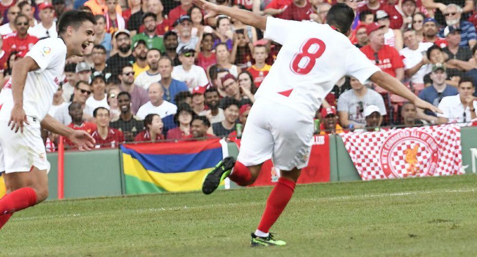 Liverpool vs Sevilla, por International Champions Cup