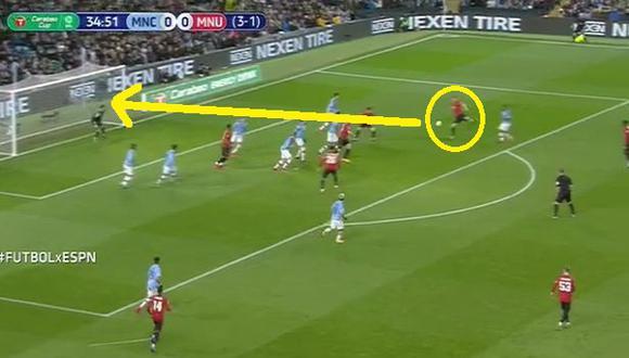 Manchester City vs. Manchester United: Gol de Nemanja Matic (Video: ESPN) (Trome)