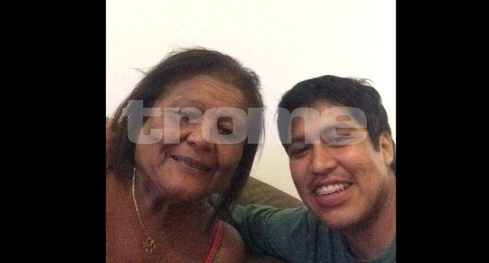Doña Peta acudió a la Morgue Central de Lima para ver a su nieto, quien murió esta madrugada atropellado por auto.
