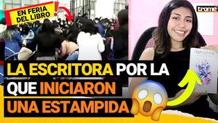 Flor M. Salvador: ¿Quién es la escritora por la que peruanos iniciaron una estampida en la ''Feria Metropolitana del Libro''?