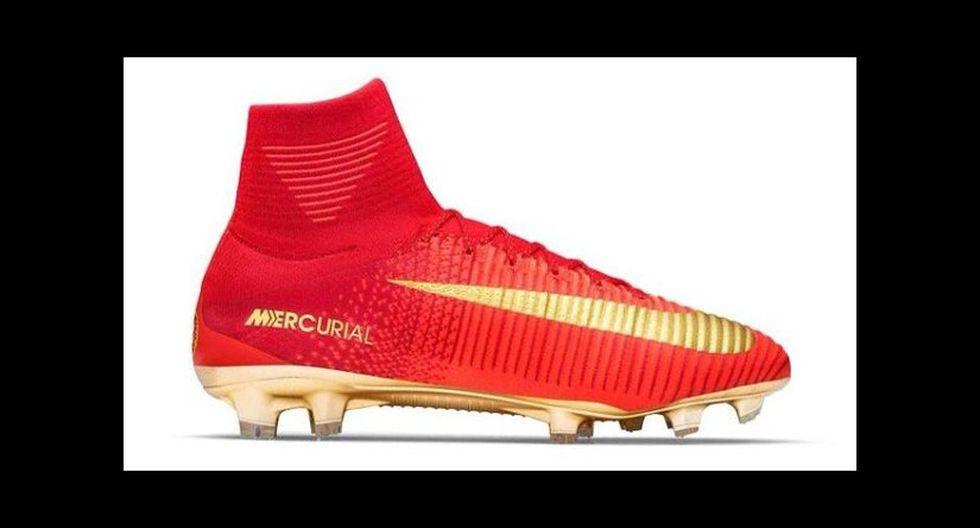 Cristiano Ronaldo y sus alucinantes botines que estrenará con Portugal en la Copa Confederaciones