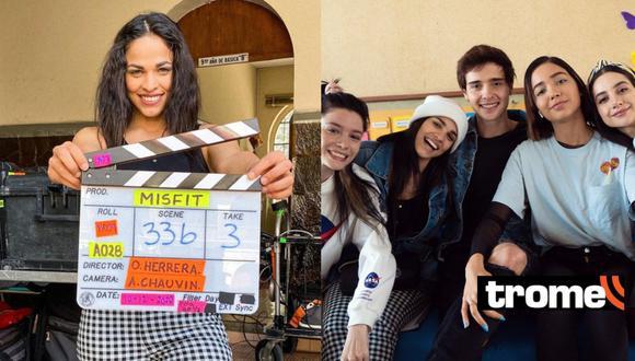 "Raysa Ortiz dejó ""De vuelta al barrio"" para grabar la segunda película de Enchufe TV en Ecuador"