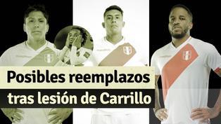 Selección Peruana: las opciones de Gareca tras lesión de Carrillo