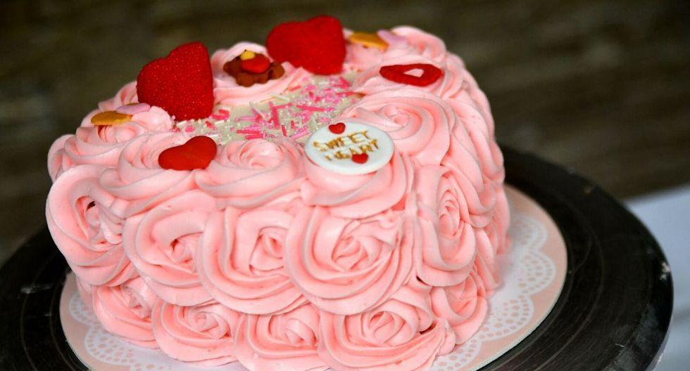 Torta 'Pink velvet'. (Foto: Samantha Aguilar)