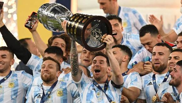 Argentina se erigió como campeona de Copa América 2021 tras vencer a Brasil en el Maracaná