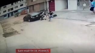 Sujeto armado asaltó a pareja de jóvenes en San Martín de Porres