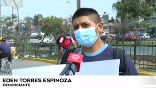 Hombre denuncia que su combi intervenida por error fue desmantelada en el depósito municipal de El Agustino