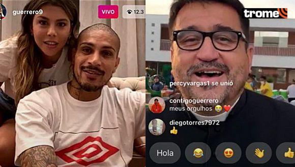 Paolo Guerrero y Alondra García Miró