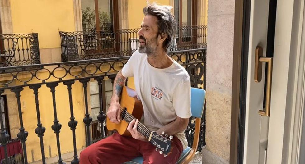 Pau Donés, líder de Jarabe de Palo, vuelve a cantar después de más de un año. (Foto: Captura de video)