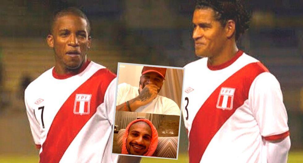 Jefferson Farfán se incomodó cando Paolo Guerrero le recordó este anécdota con Santiago Acasiete