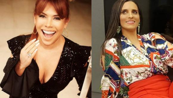 Magaly Medina llama 'mosquita' a Laura Borlini   TROME