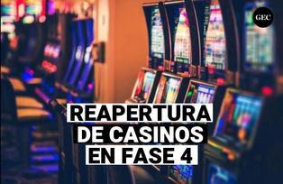Fase 4: Reapertura de teatros y casino