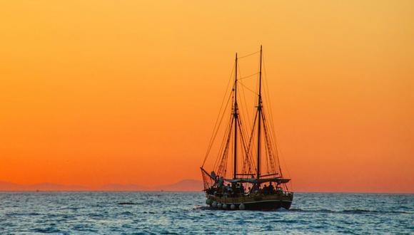 El yate blanco de 13 metros fue hallado por pescadores en el sur de Filipinas. (Foto: Referencial/Pixabay)