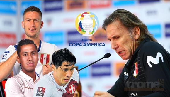 Sorpresas en la lista de Ricardo Gareca para la Copa América 2021 (Foto GEC)