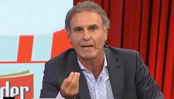 Óscar Ruggeri tiene 59 años y aún no es vacunado contra la COVID-19. (Captura: ESPN)