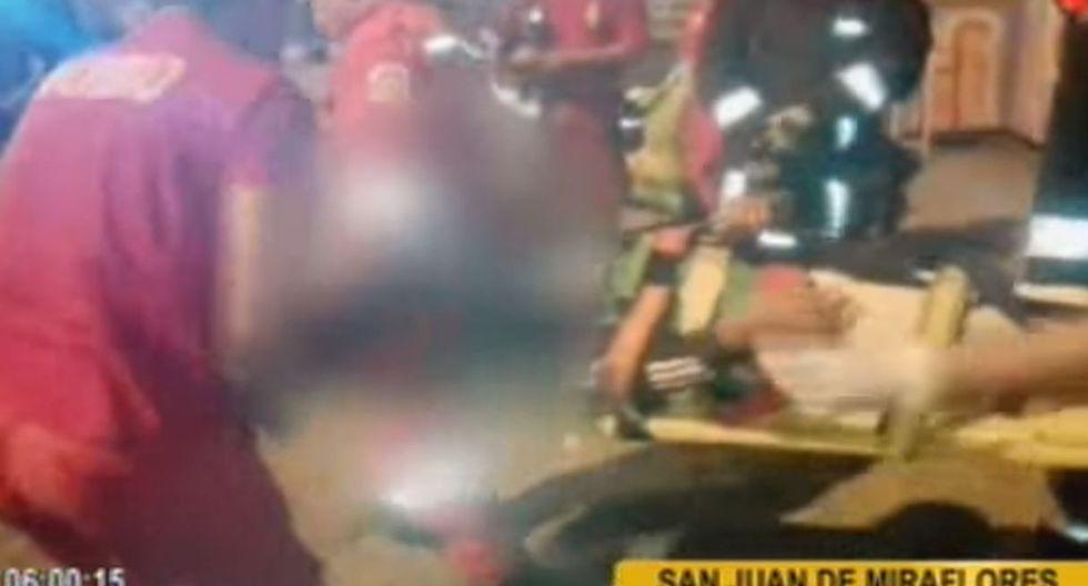 Juegos mecánicos fallan en San Juan de Miraflores
