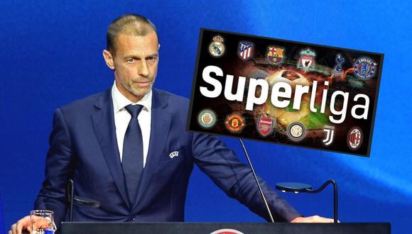 Frenan posible castigo de UEFA y FIFA a Superliga  (Foto: EFE)