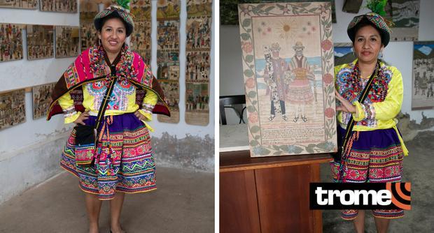 Artista promueva las 'Tablas de Sarhua'