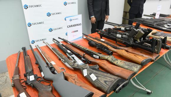 La plataforma surge de un esfuerzo en conjunto entre la Policía y la Sucamec. (Foto: Mininter)