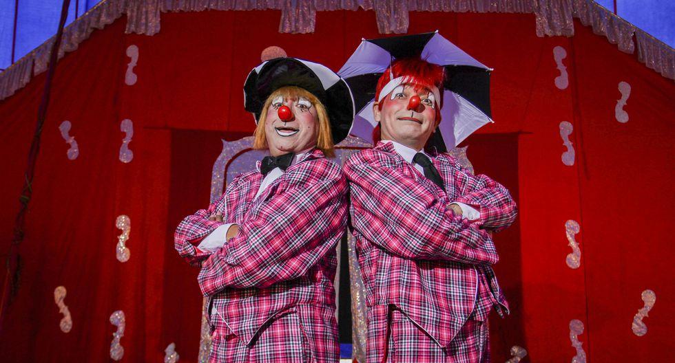 Estuvieron en programas infantiles de televisión por 15 años, pero ahora se dedican a su propio circo.