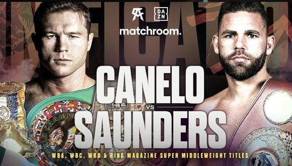 Canelo Álvarez ya tiene rival para su próximo combate. ( Matchroom Boxing)