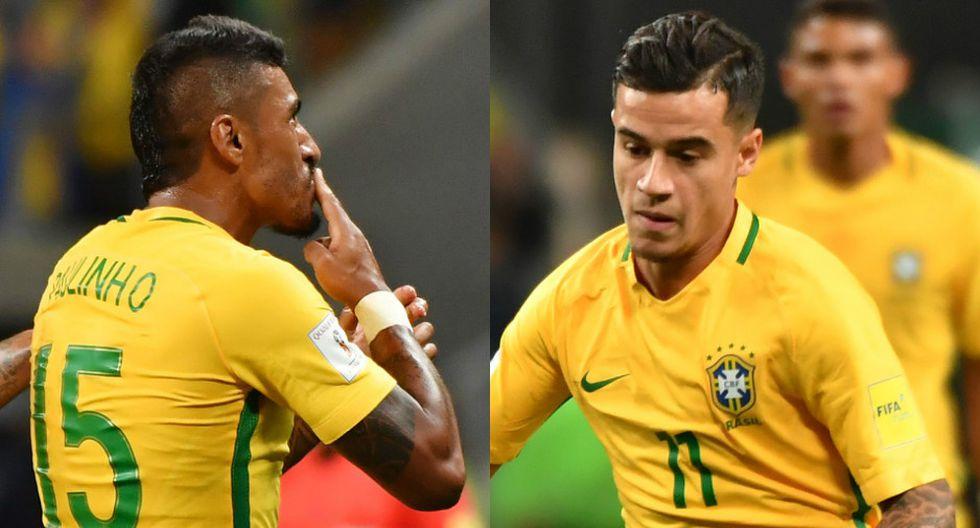 Brasil vs. Ecuador: Coutinho y Paulinho anotaron goles del triunfo de la Canarinha