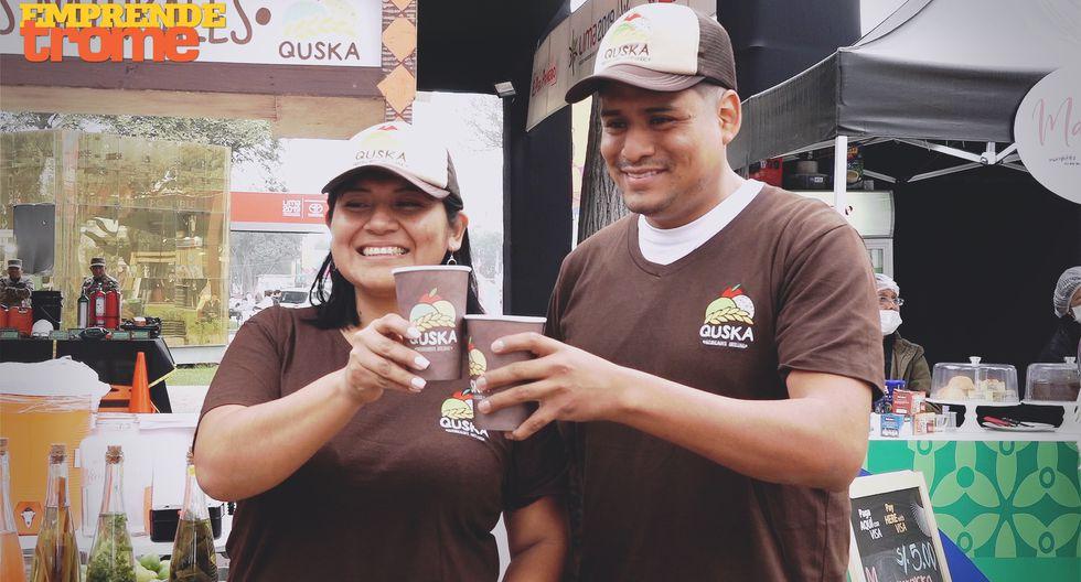 Quska, el emoliente que embelesó a los deportistas de los Panamericanos 2019. Video: Trome