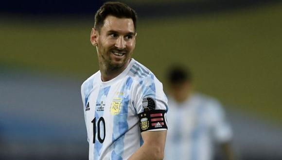 Lionel Messi le anotó gol a Chile en el inicio de la Copa América 2021. (Foto: AFP)