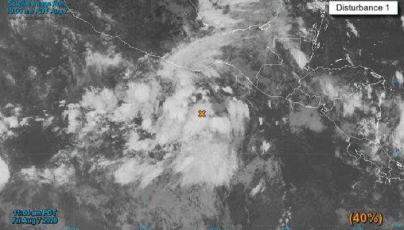 Elida permanecerá lunes, martes y miércoles como huracán categoría 1 y volverá a su estatus de tormenta tropical el próximo jueves 13. (Image: NHC Eastern Pacific/@NHC_Pacific)