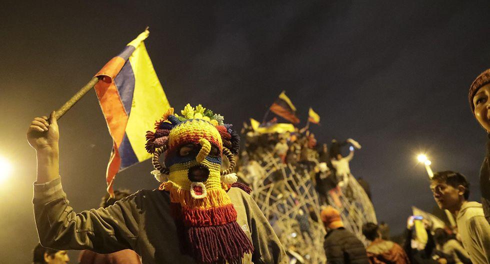 Este acuerdo termina con las protestas en el país, principalmente en la capital Quito. (Foto: EFE)