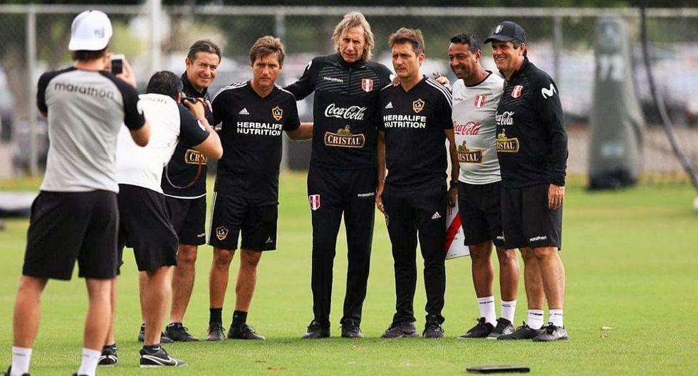 Mellizos Barros Schelotto visitaron a Nolberto Solano y Ricardo Gareca