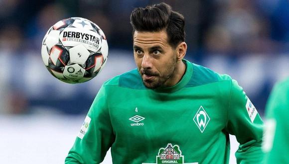 Claudio Pizarro se encuentra en proceso de recuperación de la lesión que sufrió en pretemporada. (Foto: Werder Bremen)